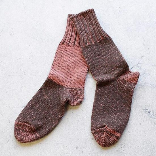 播州織コットン靴下(女性用)の写真