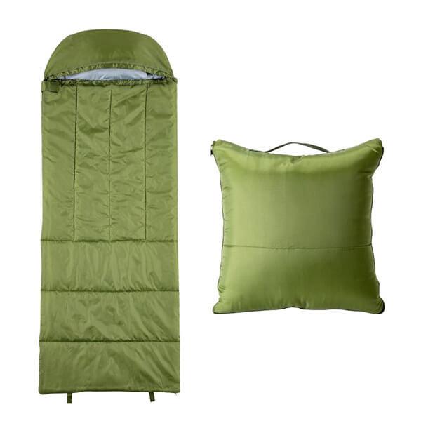 クッション型多機能寝袋の写真