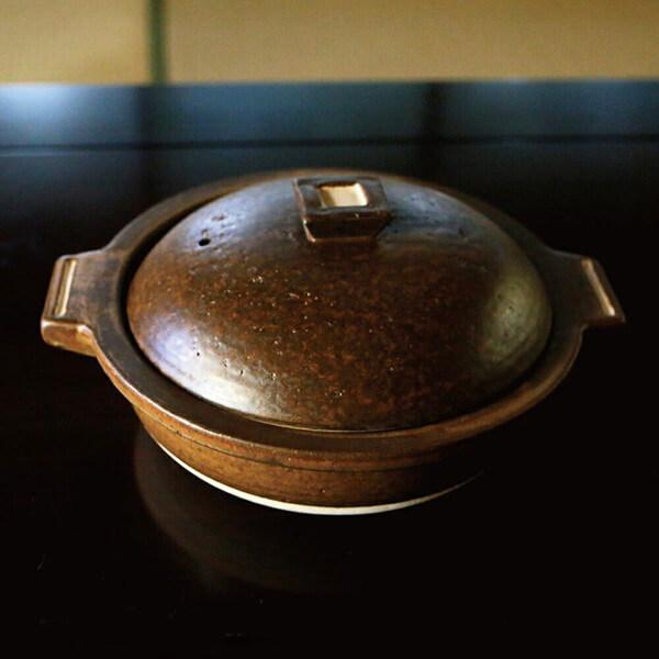 信楽焼 土鍋1〜2人用の写真
