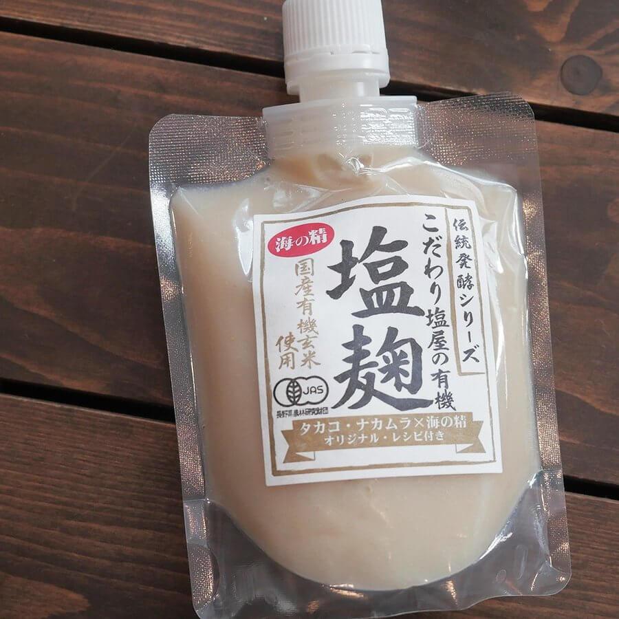 こだわり塩屋の有機塩麹米