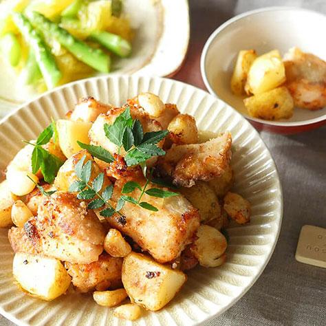 新じゃが、アスパラガス、梅を味わう!<br>今食べたい・仕込みたいレシピ