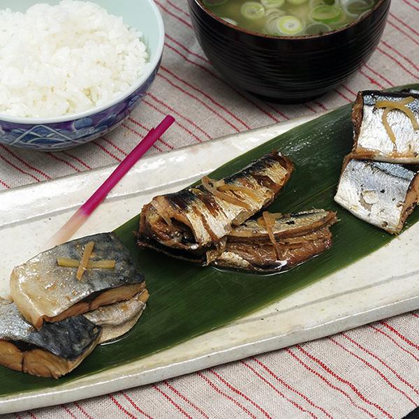 三陸 魚やの煮付3種