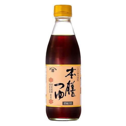 【キッコーマン】ヒゲタ本膳つゆの商品写真