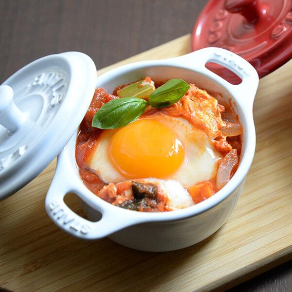 味噌汁でアクアコッタ風スープの写真