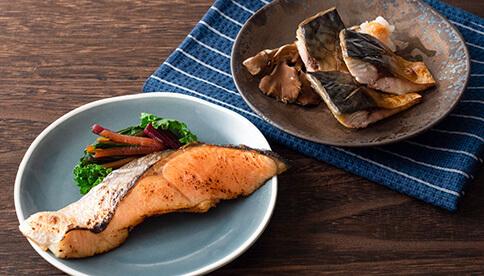 金華さば・金華銀鮭魚醤干しセット