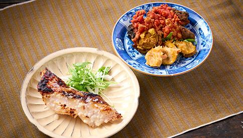 丸多喜さんの漬魚・ほやっとセット