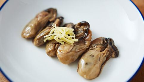 牡蠣しょうが煮、みそ煮セット