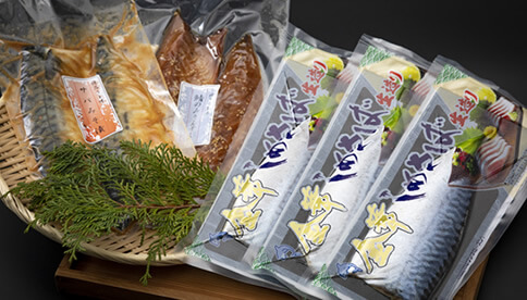 金華しめ鯖+漬け魚セット