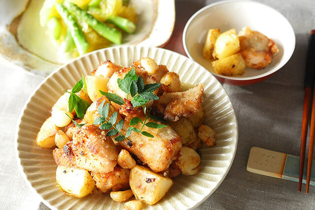 新じゃが、アスパラガス、梅を味わう!今食べたい・仕込みたいレシピ