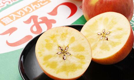 究極の蜜入りリンゴ「こみつ」