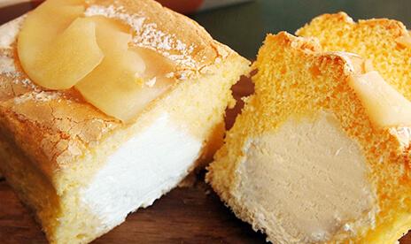 信州リンゴの生パウンドケーキ