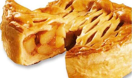 手作りリンゴたっぷりパイ