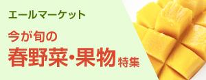 エールマーケット春野菜・果物特集