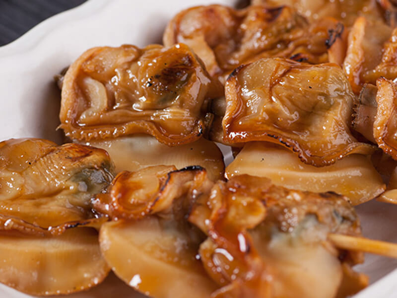 焼き蛤とアサリ