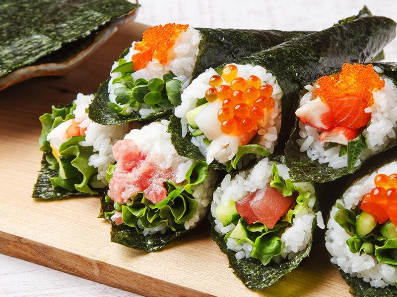 簡単、手巻き寿司セット
