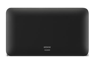 603HW ブラック