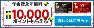 Tポイントがたまる、年会費無料クレジットカード! Yahoo! JAPANカード新規入会キャンペーン - Yahoo!カード