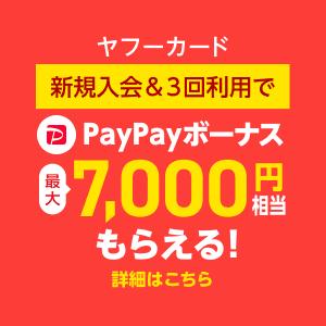 Yahoo! JAPANカード新規入会特典