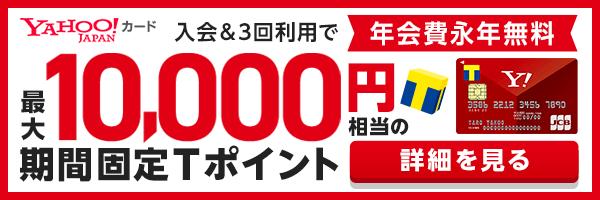 Yahoo! JAPANカード 年会費永年無料