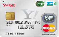 Yahoo! JAPANカードSuica MasterCard